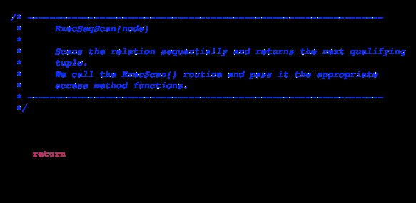Following a Select Statement Through Postgres Internals - Pat